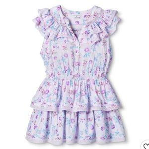 LoveShackFancy x Target Lou Double Ruffle Dress L